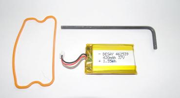 Akku SportDog 3,7 V 420 mAh - Ladeclip