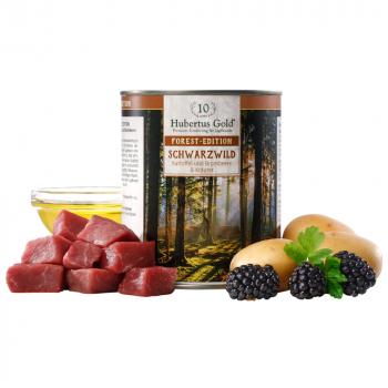 Forest-Edition Schwarzwild mit Kartoffel und Brombeere & Kräuter - getreidefrei 800 g