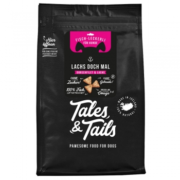 Tales & Tails Icebarks - Lachs doch mal, 70 g